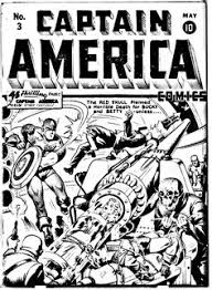 Free Coloring Page Adult Cover Comics Captain America Original