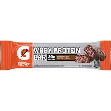 Gatorade Recover Bar 20 Grams Of Protein Chocolate Chip 169 Oz 6 Ct