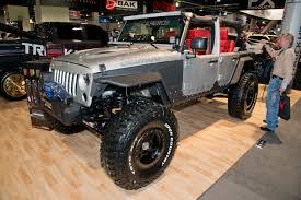 Gallery: Jeeps Of SEMA 2015   RECOIL OFFGRID View Jeep Vancouver Used Car Truck And Suv Budget Sales Unique Renegade Pickup Is An Ode To The Comanche San Marcos Chrysler Dodge Ram New 2015 Compact Youtube Pamby 2016 Overview Cargurus 2014 Rubicon Brute Dc 350 64l Hemi All Star Dodge Chrysler Jeep Ram Wrangler Best Image Gallery 720 Share Download Details West K Auto 1721 Sahara Chelsea Company Kahn Design 28 Crd