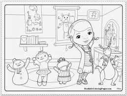 Doc McStuffins Coloring Pages Inside Mcstuffins Printable