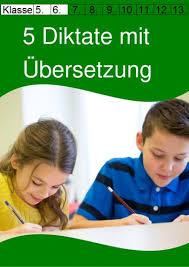 5 englische diktate mit übersetzung für die 5 klasse unterrichtsmaterial im fach englisch