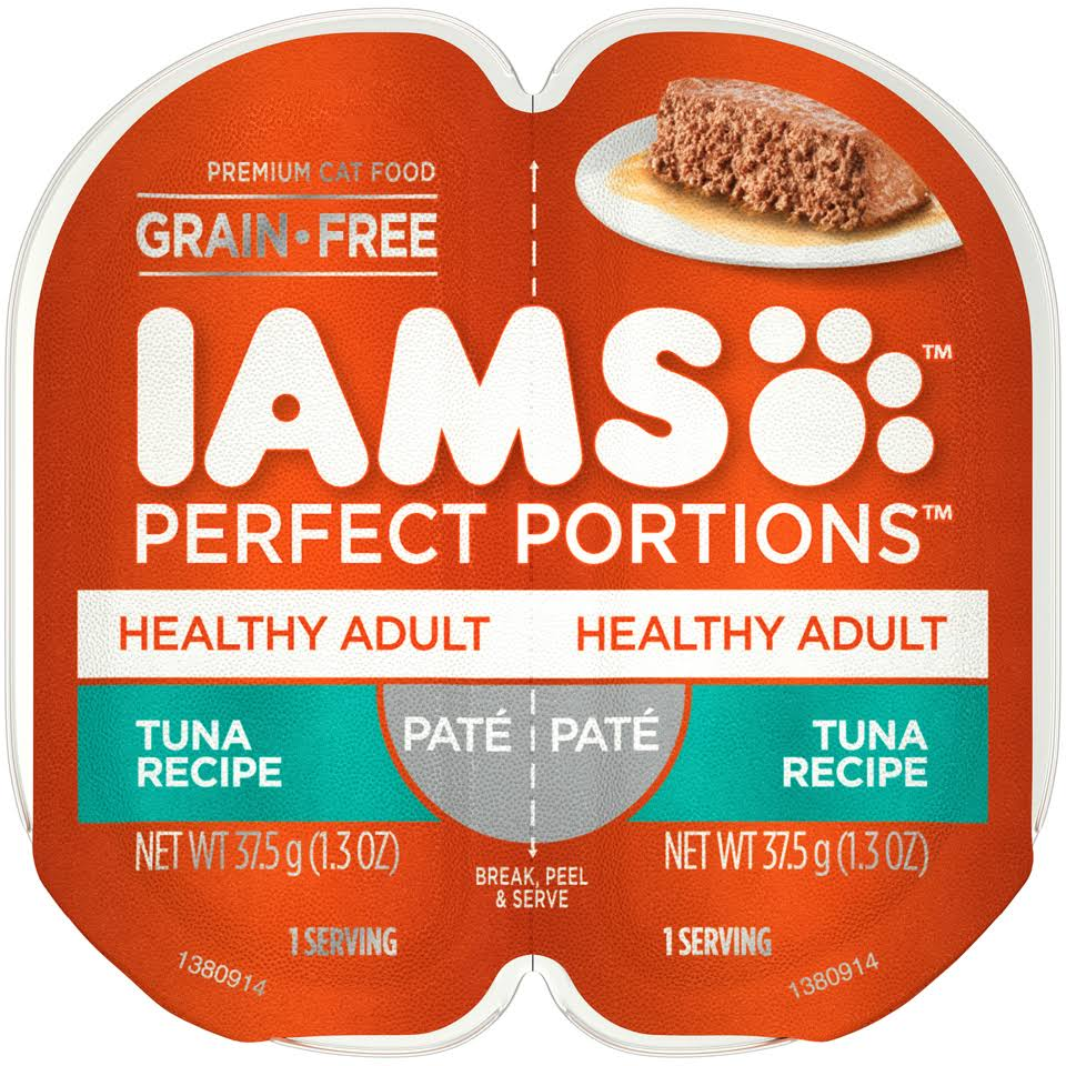 IAMS Healthy Adult Perfect Portions Wet Cat Food - 2.6oz, Tuna Recipe