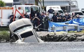 Motorist Dead After Driving Into Intracoastal Waterway Under Beach ...