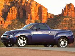 100 Convertible Chevy Truck 2003 Chevrolet SSR Pickup Signature Series Mountains