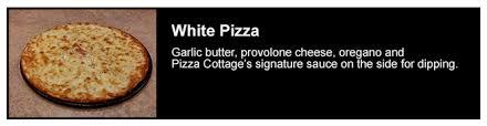 Pizza Menu — Pizza Cottage