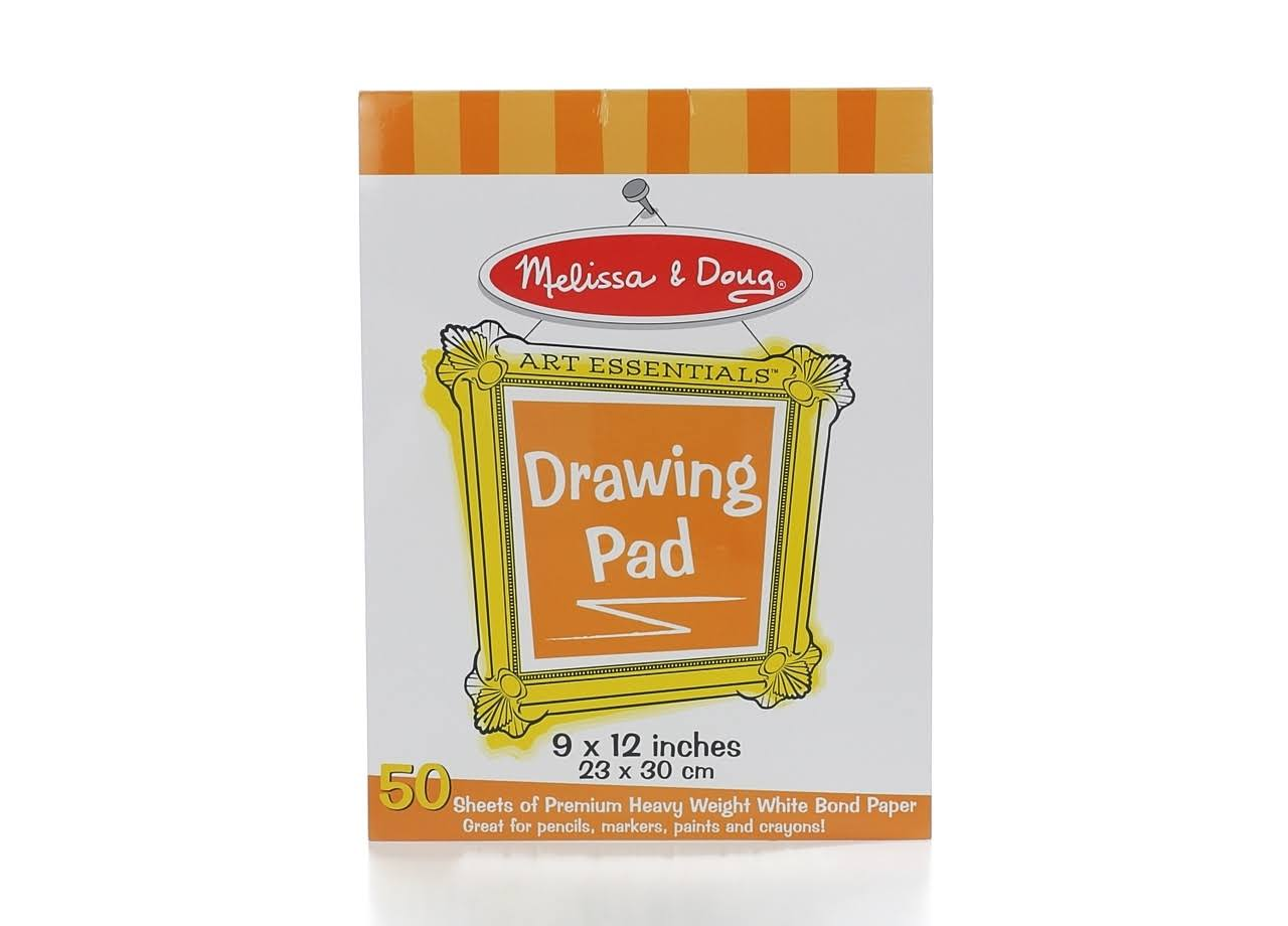 Melissa & Doug Drawing Paper Pad - 9in x 12in