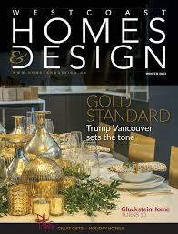100 Ca Home And Design Magazine Featured In Westcoast S Nov 2013