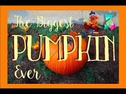 The Biggest Pumpkin Ever By Steven Kroll by The Biggest Pumpkin Ever Fixed Youtube