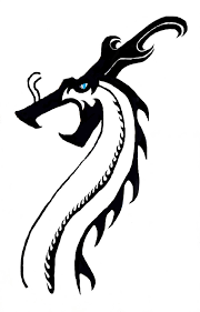 Simple Chinese Dragon Design By Roninvalkyrie