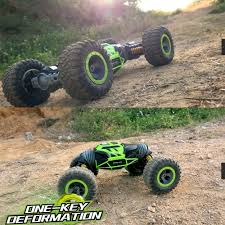 UD2168A 2.4G 4WD Double Sided Stunt RC Car One Key Deformation ... Rc 4wd Rock Climber Truck 118th 24ghz Digital Propotion Control Awesome Bumpside F100 44 Off Road Cars And Trucks Team Associated Rc Car 24ghz Crawler Rally 4wd 118 Scale Top Race Tr130 24 Ghz Batteries Remote 112 Full Proportional High Speed Desert Offroad Monster Wheel 4x4 Brushless Metal Chassis Terrain Dune Buggy Rechargeable 20 Mph Gizmovine 18428b Offroad Sacle 24ghz Wltoys 18405