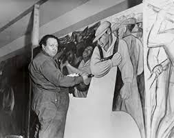 Diego Rivera Rockefeller Mural by Chronology Murals For The Museum Of Modern Art