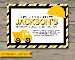 Truck Birthday Invitations - Lijicinu #a1a0ebf9eba6