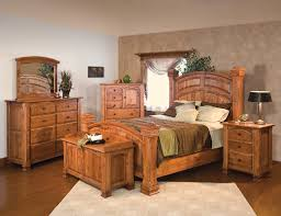 Attractive Ideas Solid Oak Bedroom Furniture Amish Sets Beautiful