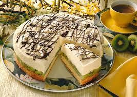 kiwi mascarpone torte