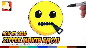 Emoji Cute Starbucks Wallpaper Elegant How To Draw Emojis Zipper Mouth Step By For