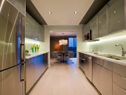 Kitchen Soffit Decorating Ideas by Galley Kitchen Designs Hgtv