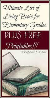Ultimate List Of Living Books For Elementary Grades