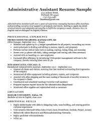 Resume Sample Executive Assistant Australia