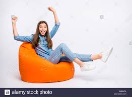 Bean Bag Chair Stock Photos & Bean Bag Chair Stock Images ... Bean Bag Factory Soccer Chair Cover Stuffed Animal Storage Seat Plush Toys Home Organizer Beanbag Amazoncom Ball Sports Kitchen Kids Comfort Cubed Teen Adult Ultra Snug Fresco Misc Blue Gold Nfl Los Angeles Rams Pretty Elementary Age Little Girl On Sports Day Balancing Cotton Evolve Faux Suede Gax Sport Large Small Classic Chairs Sofa Snuggle Outdoor And Indoor Big Joe In Sportsball
