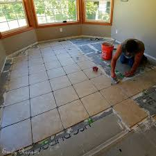 DIY 8 Steps To Laying A New Tile Floor