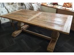 Rhiannon Farmhouse Hampton Style Rustic Dining Table