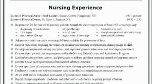 Pre Nursing Student Resume Examples Template
