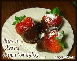 Have a Berry Happy Birthday Chocolate Covered