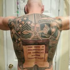 Unknown Soldier Military Tattoo