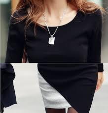 women casual dress summer dress office irregular stitching long