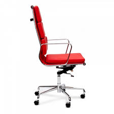 Eames Style Soft Pad Management Chair by Eames Style Red Soft Pad Office Chair Executive Chairs Cult Uk