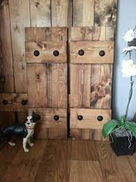RUSTIC Wood Shutters With Clavos
