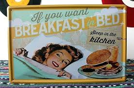 Vintage Kitchen Signs Sleep In The Metal Retro Tin Sign Wall Decoration For Restaurant