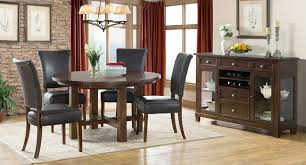 Star Valley Round Dining Set W/ Upholstered Chairs Intercon ... Trisha Yearwood Home Music City Hello Im Gone Ding Room Table Grey Griffin Cutback Upholstered Chair Along With Dark Wood Amazoncom Formal Luxurious 5pc Set Antique Silver Finish Tribeca Round And 2 Upholstered Side Chairs American Haddie Light Tone 4 Value Hooker Fniture Corsica Rectangle Pedestal Matisse With W Ladder Back By Paula Deen Vienna Merlot Kayla New