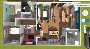 plan maison 90m2 plain pied 3 chambres maison 90m2 3d