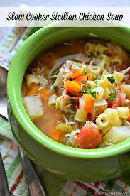 Crock Pot Potato Soup Mama by Slow Cooker Sicilian Chicken Soup Katie U0027s Cucina