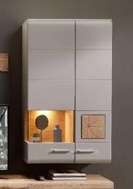 plus ii hängevitrine vitrine wohnzimmerschrank inkl led beleuchtung grau abs eiche altholz