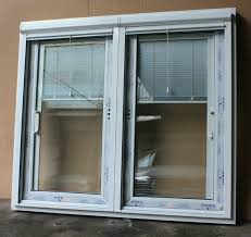 Sliding Door With Blinds In The Glass by The Most Care For Windows With Blinds Between Glass Concerning