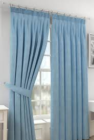 Teal Blackout Curtains Pencil Pleat by Sunrise Readymade Blackout Curtains Blue Cortinas Pinterest