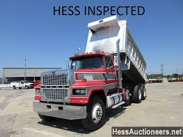 USED 1996 FORD LTL 9000 TRI-AXLE ALUMINUM DUMP TRUCK FOR SALE IN PA ...