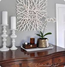 Driftwood Painted White Could Do This For The Shelves To Keep With Pottery Barn Wall ArtDriftwood