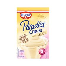 dr oetker paradies creme weiße schokolade 70g beutel