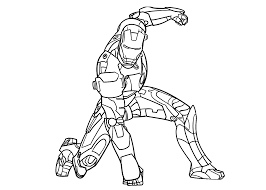 Lego Iron Man Coloring Pages Picture