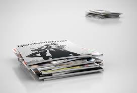 Magazines Stack 3d Model Max Obj 3ds C4d Mtl 1
