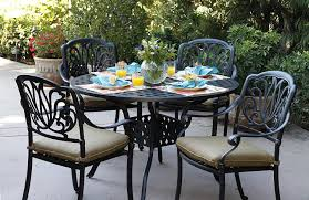 Darlee Patio Furniture Quality by Amazon Com Darlee Elisabeth Cast Aluminum 5 Piece Dining Set