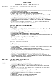Download Financial Services Consultant Resume Sample As Image File