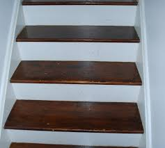 Refinishing an Hardwood Staircase 8 Steps with