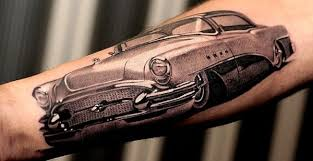 Classic Car Tattoo Amazingjust Amazing Starrs World Of Tattoos That I Think