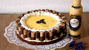 waffelröllchen eierlikör sahne torte