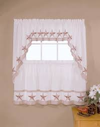 Walmart Kitchen Cafe Curtains by Decor Beautiful Kitchen Curtains Walmart For Kitchen Decoration