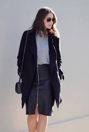 Harper And Harley Coat Leather Skirt Winter Outfit 03